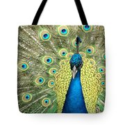 Noble Peacock Tote Bag