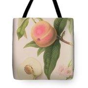 Noblesse Peach Tote Bag