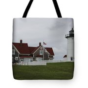Nobska Point Light Tote Bag