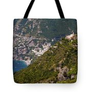Nocelle Above Postitano Tote Bag