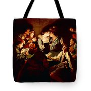 Nocturnal Concert Tote Bag by Jean  Leclerc