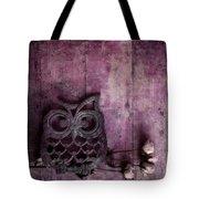Nocturnal In Pink Tote Bag by Priska Wettstein