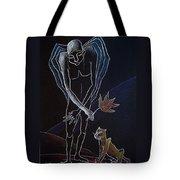 Nocturnes. Angel's Autumn Tote Bag