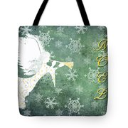 Noel Christmas Card Tote Bag