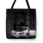 Noir City Tote Bag