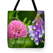 Non Identical Twins Tote Bag by Marty Koch