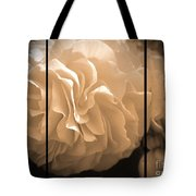 Non-stop Begonia Triptych Tote Bag