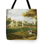 Nonsuch Palace In The Time Of King Tote Bag