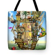 Norah's Ark Tote Bag by Colin Thompson