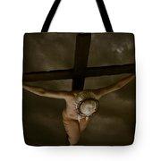 Nordic Crucifix Tote Bag