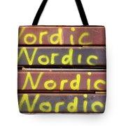 Nordic Rusty Steel Tote Bag