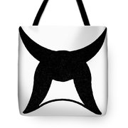 Nordic Symbol Horns Tote Bag