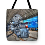 Norfolk And Western 1218 And 1776 Tote Bag