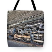 Norfolk And Western Locomotive 1218 Tote Bag