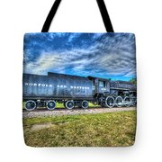 Norfolk And Western Steam Locomotive No 606 Tote Bag