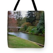 Norfolk Botanical Gardens Canal 3 Tote Bag