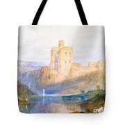 Norham Castle An Illustration To Marmion By Sir Walter Scott Tote Bag
