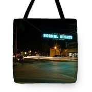 Normal Heights Neon Tote Bag by John Daly