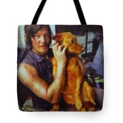 Norman And Charlie  Tote Bag