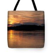 Norris Lake Sunrise Tote Bag