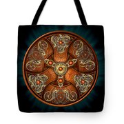 Norse Chieftain's Shield Tote Bag