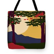 North American Landscape Tote Bag
