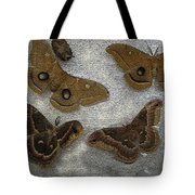 North American Large Moth Collection Tote Bag
