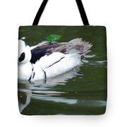 North American Male Smew Tote Bag