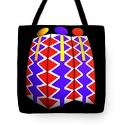 North American Pattern Tote Bag