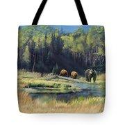 North American Waterhole Tote Bag
