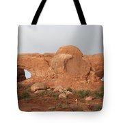North And South Window Arches Np Tote Bag