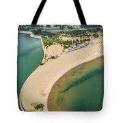 North Avenue Beach And Castaways Restaurant Tote Bag