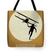 North By Northwest Poster Tote Bag by Naxart Studio
