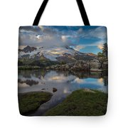 North Cascades Tarn Reflection Tote Bag