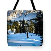 North Cascades Winter Tote Bag
