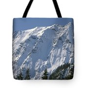 1m4443-north Face Of Big Four Mountain Tote Bag