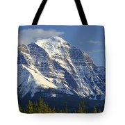 1m3549-north Face Of Mt. Temple Tote Bag