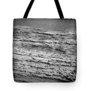 North Fork Of The Flathead River Montana Bw Tote Bag