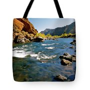 North Fork Of The Shoshone River Tote Bag