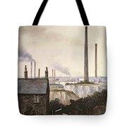North Kent Landscape  Nr Northfleet Gravesend Tote Bag
