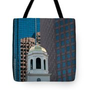 North Meeting Place And Echange Place Tote Bag