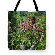 North Point Park Flowers Tote Bag