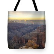 North Rim Sunrise Panorama 2 - Grand Canyon National Park - Arizona Tote Bag