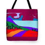 North Saanich Field And Inlet Tote Bag