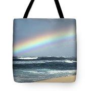 North Shore Oahu Rainbow Tote Bag