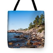 North Shore Of Lake Superior Tote Bag