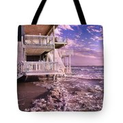 North Topsail Beach Tides That Tell Tote Bag