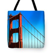 North Tower Golden Gate Tote Bag
