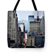 North Up Seventh Avenue Tote Bag