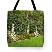 North Vista - Spring Flower Blooms At The North Vista Lawn Of The Huntington Library. Tote Bag